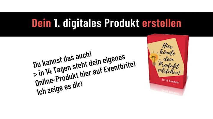 Dein 1. digitales Produkt erstellen - Crashkurs inkl. 3-Tage-Workshop Mai: Bild
