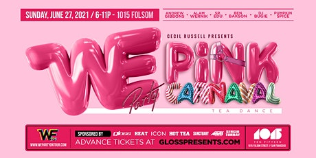 WE Pink Party Carnaval tickets