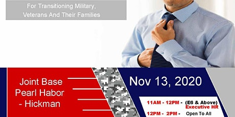 Joint Base Pearl Harbor - Hickman Transition Expo (Hiring Event & Business Expo) tickets