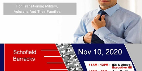 Schofield Barracks Transition Expo (Hiring Event & Business Expo) tickets