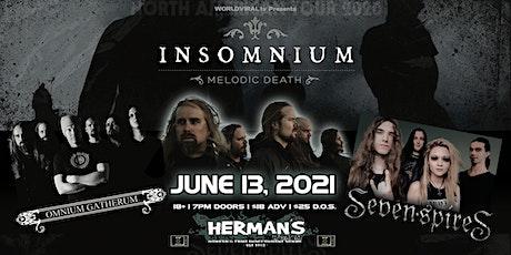 (New Date) INSOMNIUM w/ Omnium Gatherum__Seven Spires_tba tickets
