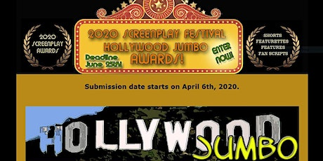 The 2020 Hollywood Jumbo Online Screenplay Festival! tickets