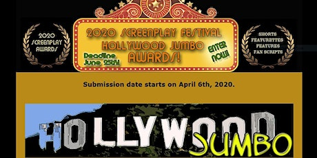 The 2020 Hollywood Jumbo Online Screenplay Festival (submit your script)! tickets