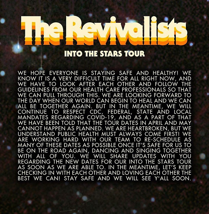 The Revivalists image