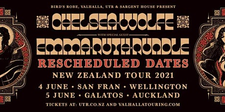 Chelsea Wolfe NZ 2021 Wellington tickets