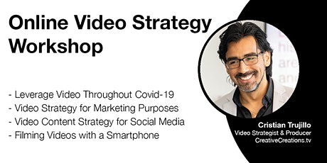 Online Video Strategy Workshop tickets