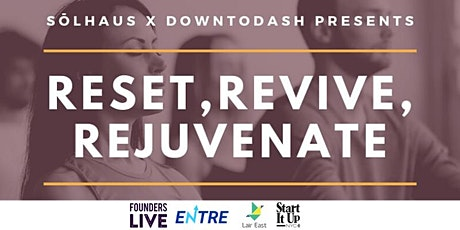 Reset, Revive, Rejuvenate - Meditation, Live Music, Networking and Raffle tickets