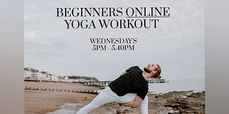 40 mins Beginners Online Yoga Workout with Josh box yoga tickets