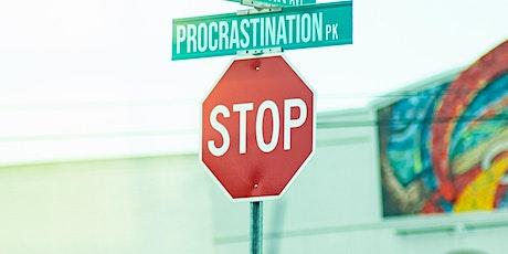 Smart Steps to Stop Procrastination tickets