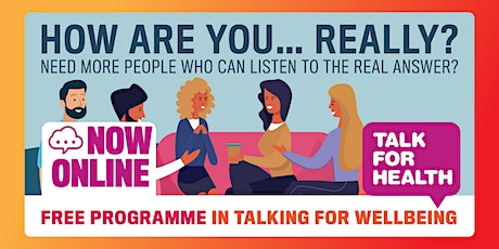 Online Talk for Health Taster: Learn to Talk for a Fit Mind tickets