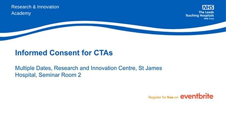 Informed Consent for Clinical Trials Assistants tickets