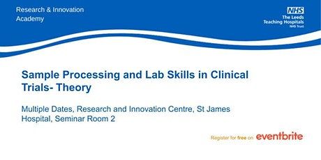 Sample Processing and Lab Skills in Clinical Trials- Theory tickets