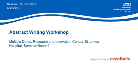 Abstract Writing Workshop tickets
