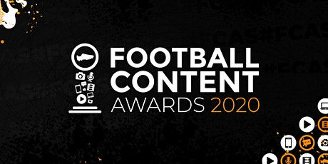 Football Content Awards 2020 - Finalists tickets