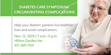 Vendor Registration: Diabetes Care Symposium: Circumventing Complications tickets