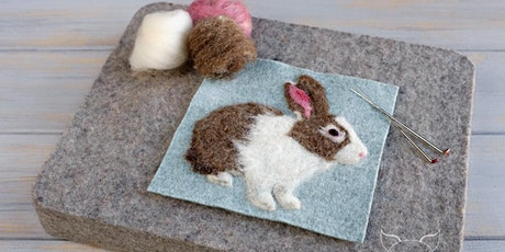 Fiber Sampler Workshop: 2D Needle Felt Rabbit tickets