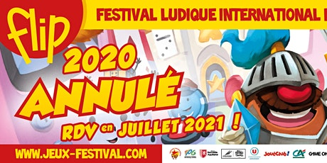 Festival Ludique International de Parthenay (FLIP) 2020  ANNULÉ billets