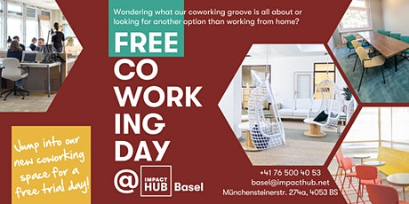 Free Coworking Day at Impact Hub Basel billets