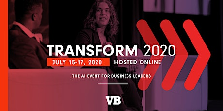 VentureBeat Transform 2020 - Accelerating Your Business With AI tickets