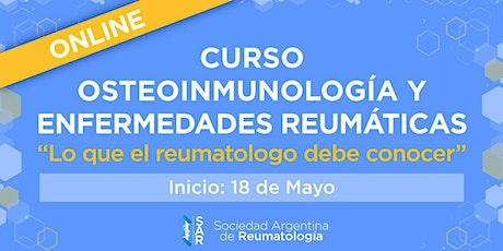 Curso de Osteoinmunología y enfermedades Reumáticas entradas