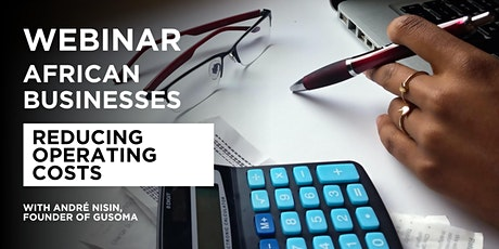 Webinar for Operations Leader - (Africa): Operating Cost tickets