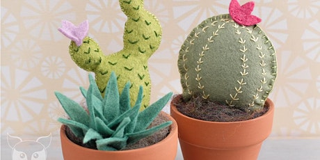 Fiber Sampler Workshop: Felted Cactus tickets