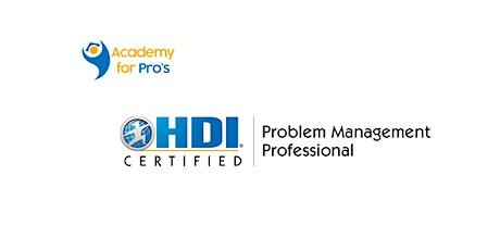 Problem Management Professional 2 Days Training in Edmonton tickets