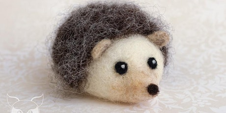 Fiber Sampler Workshop: Needle Felted Hedgehog tickets
