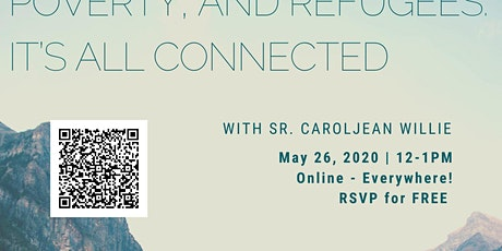 Climate Change, Poverty, & Refugees: It's All Connected (Online) tickets