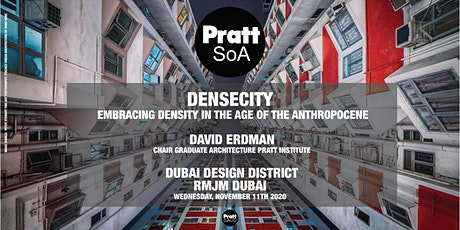 DenseCity:  Embracing Density in the Age of the Anthropocene tickets