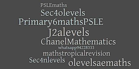 Online Lesson for Graduating Students - Pri6, Sec4, J1& J2 tickets