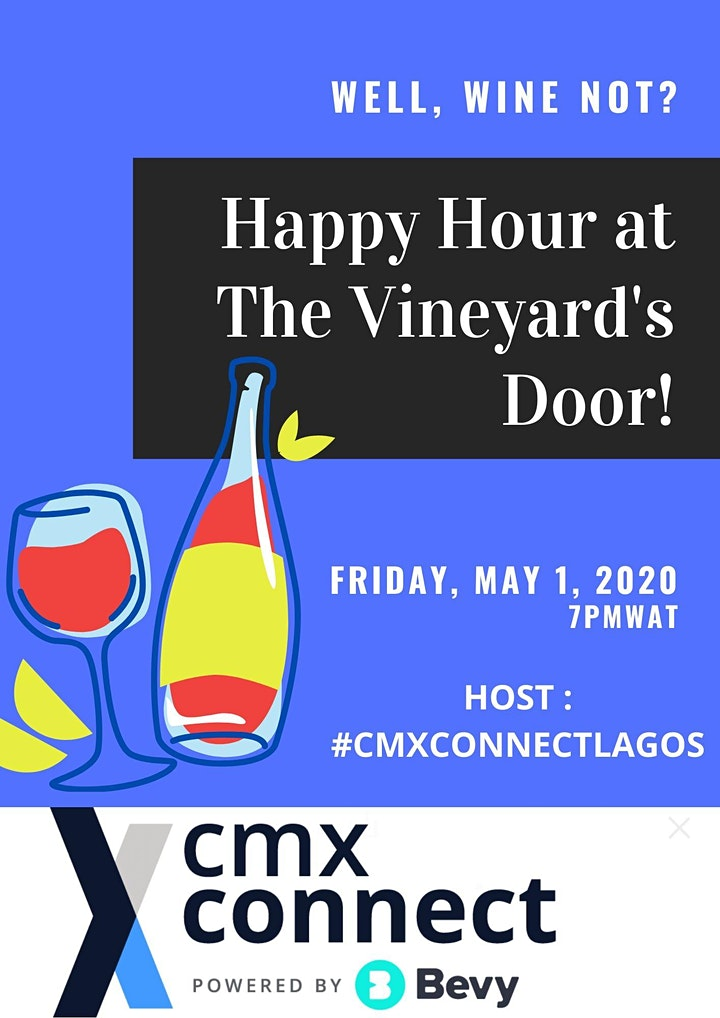 CMXCONNECT LAGOS HAPPY HOUR image