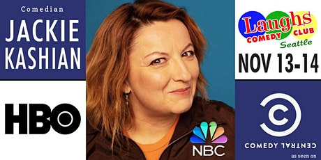 Comedian Jackie Kashian from HBO, Conan, and Comedy Central tickets