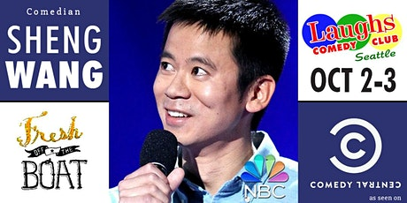 Comedian Sheng Wang from Fallon, Fresh Off the Boat, and Comedy Central tickets