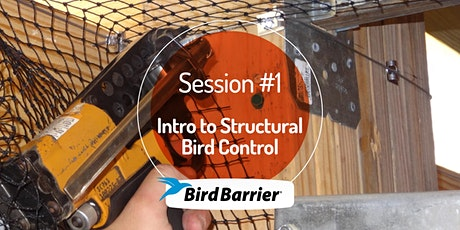 Session 1: Intro to Structural Bird Control tickets