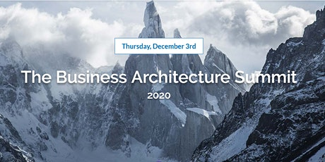 The Business Architecture Summit tickets