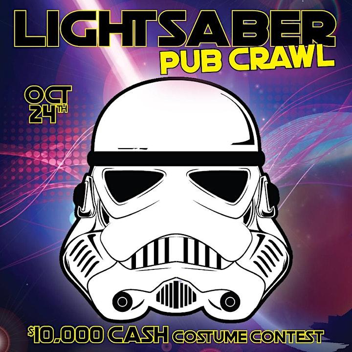 Atlanta - Lightsaber Pub Crawl - $15,000 COSTUME CONTEST image