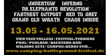 Camping Battleground Festival Tickets
