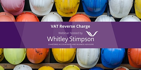 Webinar - Construction Industry VAT Reverse Charge tickets