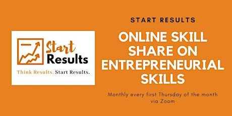 Online Skill Share on Entrepreneurial Skills tickets
