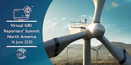 Virtual GRI Reporters' Summit North America 2020 tickets