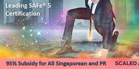 Leading SAFe® 5.0 Certification (Singapore) tickets