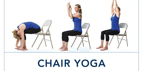 Online Chair Yoga Tickets Tue May 26 2020 At 7 00 Pm Eventbrite