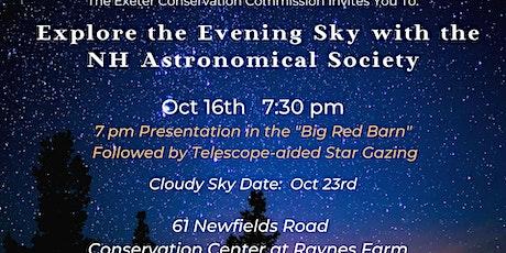 Explore the Evening Sky the NHAS tickets