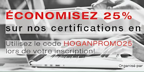 Certification Hogan - En ligne - juin 2020 (interprétation avancée) tickets
