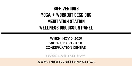 The Wellness Market FALL 2020 tickets