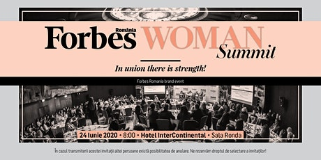 Forbes Woman Summit - 24 iunie 2020 tickets