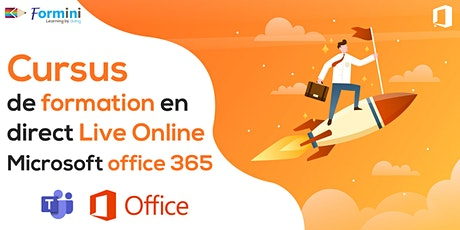 Cursus de Formation en Direct Live Online  Microsoft Office 365  by Formini entradas