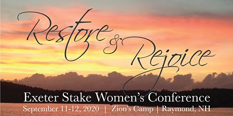 Exeter Stake Women's Conference 2020 tickets