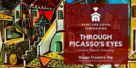"""""""Through Picasso's Eyes""""-@Home Paint For Covid tickets"""